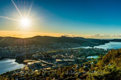 Høst i Bergen. Foto: Norphoto